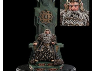 The Hobbit An Unexpected Journey King Thror On Throne Statue
