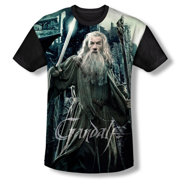 The Hobbit Battle Of The Five Armies Gandalf Shirt