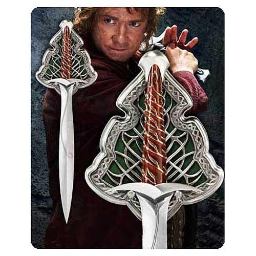 Swords, Weapons & Movie Prop Replicas from Replica Dungeon  The Hobbit Bilbo Sword