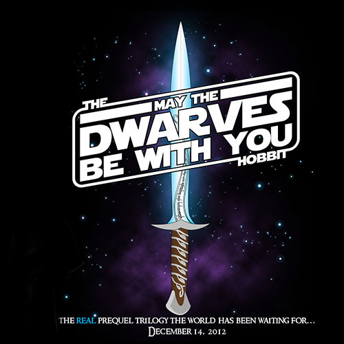 The Hobbit: May the Dwarves be with You T-Shirt
