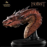 The Hobbit The Desolation of Smaug Smaug The Terrible Bust (Weta)