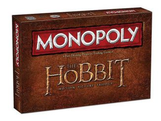 The Hobbit Trilogy Edition Monopoly Game