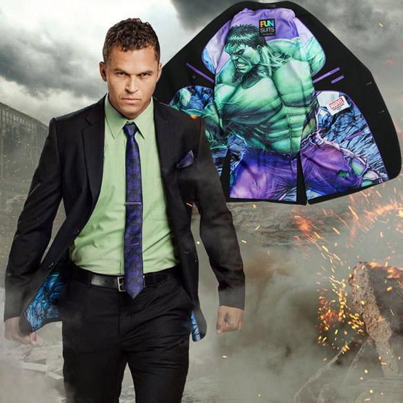 The Incredible Hulk Secret Identity Suit