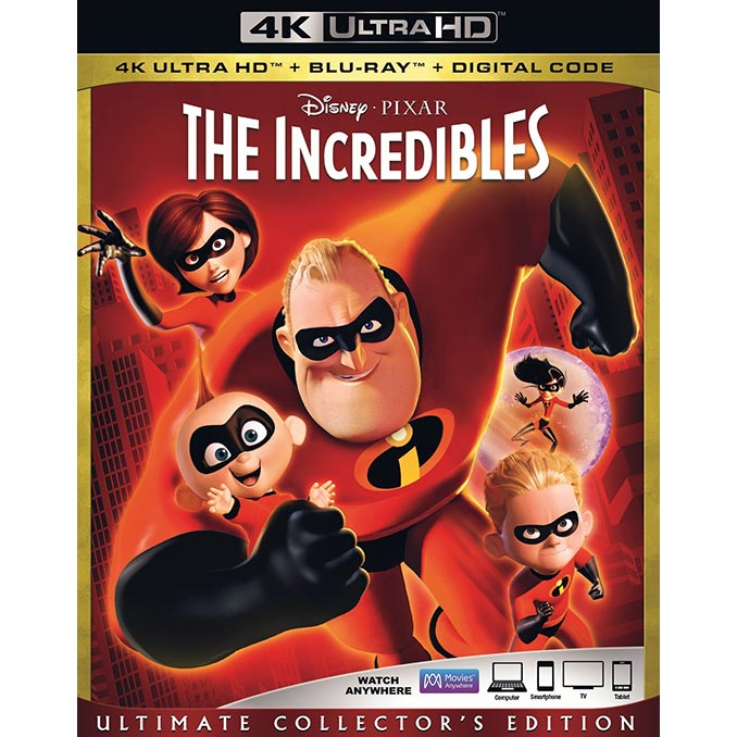 The Incredibles 4K Ultra HD Blu-Ray