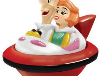 The Jetsons George and Jane Salt and Pepper Shakers