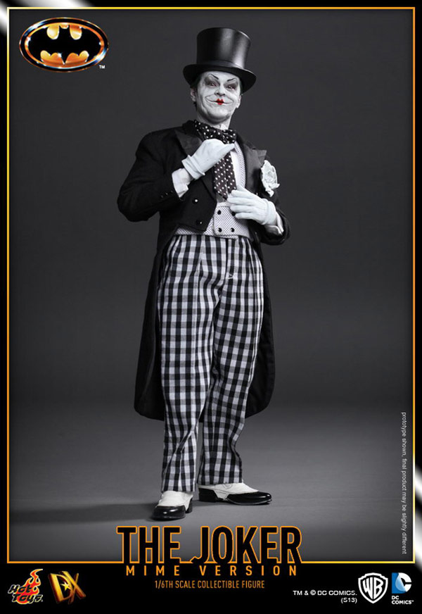 The Joker 1989 Mime Version Sixth Scale Figure