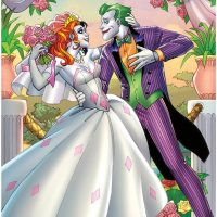 The Joker & Harley Quinn Wedding Poster