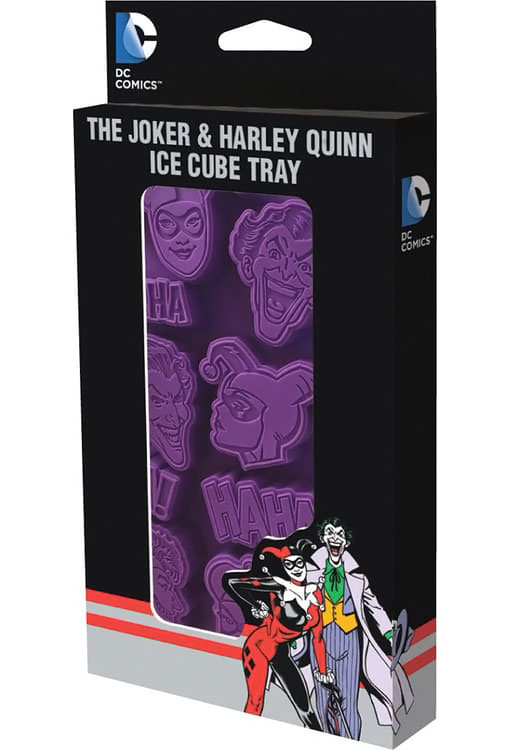 The Joker and Harley Quinn Ice Cube Tray