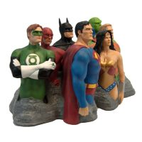 The Justice League Original 7 Alex Ross Fine Art Sculpture