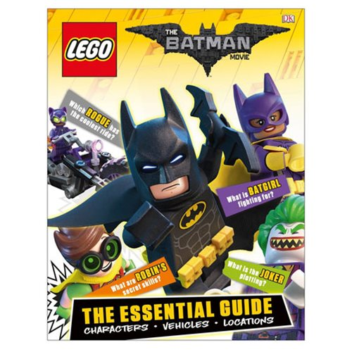 The LEGO Batman Movie The Essential Guide Hardcover Book