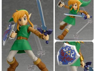 The Legend of Zelda A Link Between Worlds Link Figma Action Figure