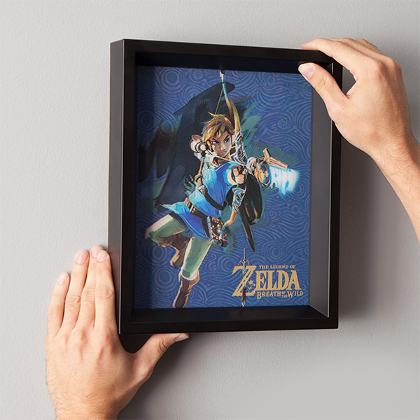 The Legend of Zelda Breath of the Wild Lenticular 3D