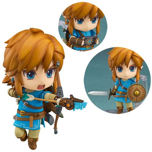 The Legend of Zelda Breath of the Wild Link Nendoroid Action Figure