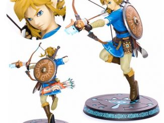 The Legend of Zelda Breath of the Wild Link Statue