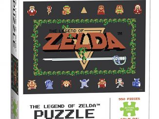 The Legend of Zelda Classic 550pc Puzzle