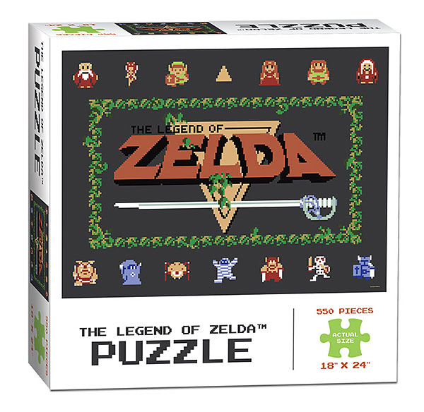 The Legend of Zelda Classic 550pc Puzzle