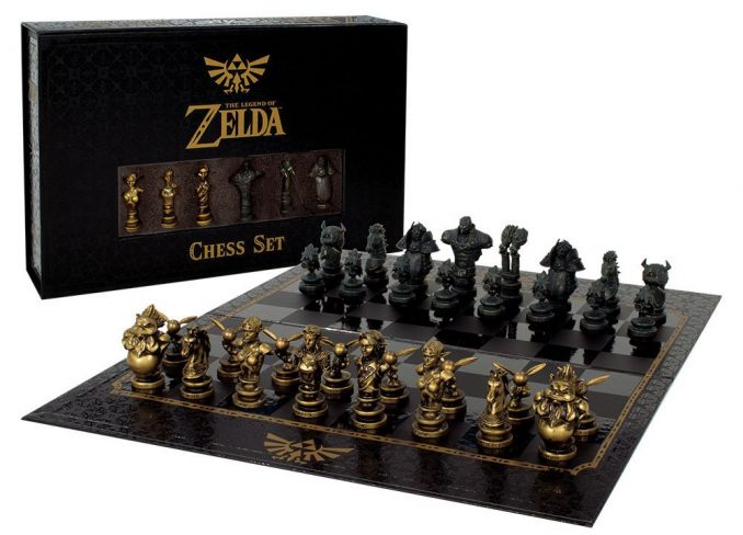 The Legend of Zelda Collector's Chess Set