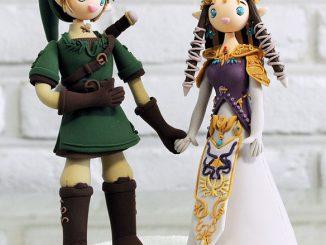 The Legend of Zelda Custom Wedding Cake Topper