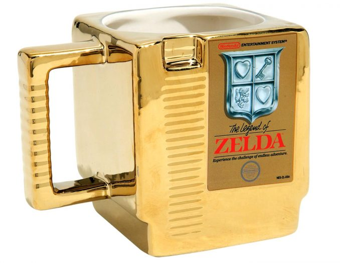 The Legend of Zelda Gold Cartridge Mug