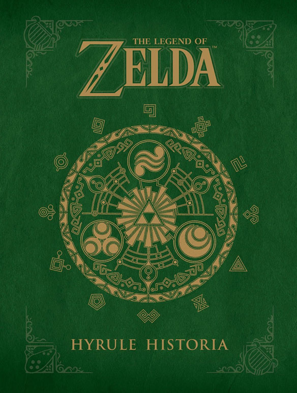 The Legend of Zelda Hyrule Historia Book