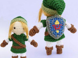 The Legend of Zelda Link Amigurumi
