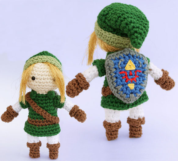 Amigurumi Link Pattern : The Legend of Zelda Link Amigurumi Pattern