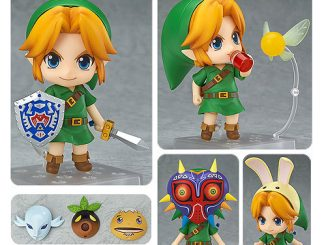 The Legend of Zelda Majoras Mask Link Nendoroid Action Figure