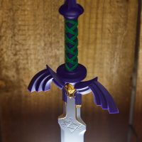 The Legend of Zelda Master Sword Lamp Detail