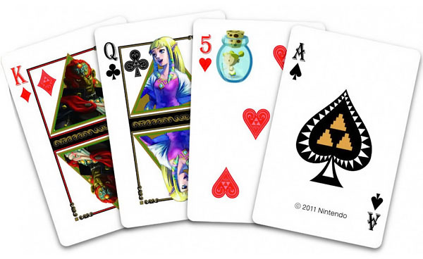 The Legend of Zelda Playing Cards