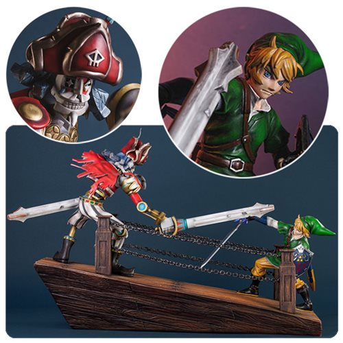 The Legend of Zelda Skyward Sword Link vs Scervo Diorama Statue