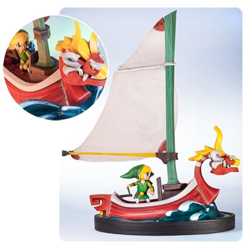 The Legend of Zelda The Wind Waker Link on the King of Red Lions Statue