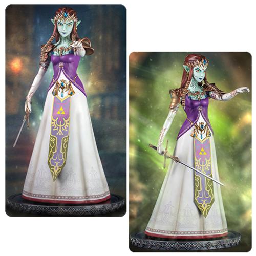 The Legend of Zelda Twilight Princess Ganon's Puppet Zelda 1 4 Scale Statue