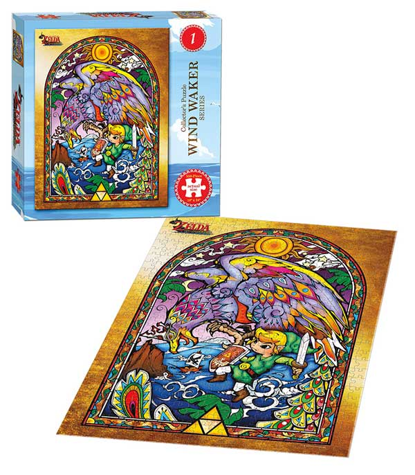The Legend of Zelda Wind Waker Collector's Puzzle Series