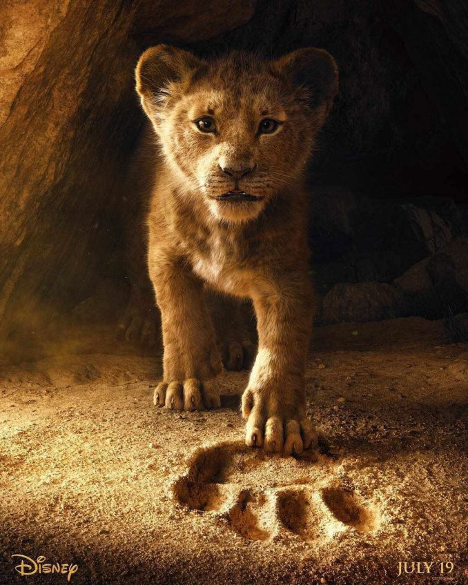 The Lion King Official Teaser Poster