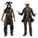 The Lone Ranger 7 Inch Action Figure Series 1 Set