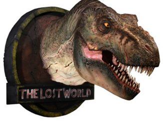 The Lost World Jurassic Park T-Rex 1 5 Scale Bust