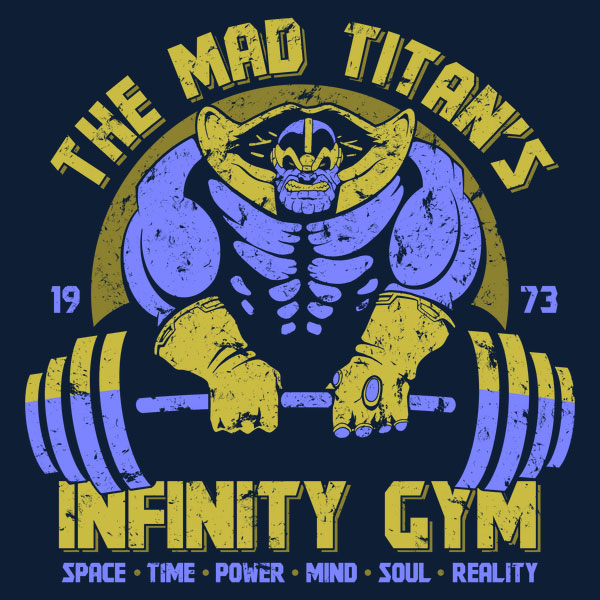 The Mad Titan's Infinity Gym T-Shirt