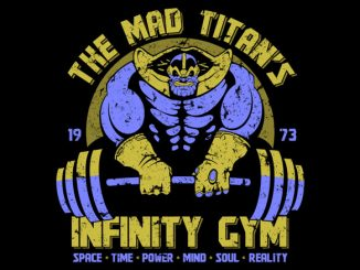 The Mad Titan's Infinity Gym Tee