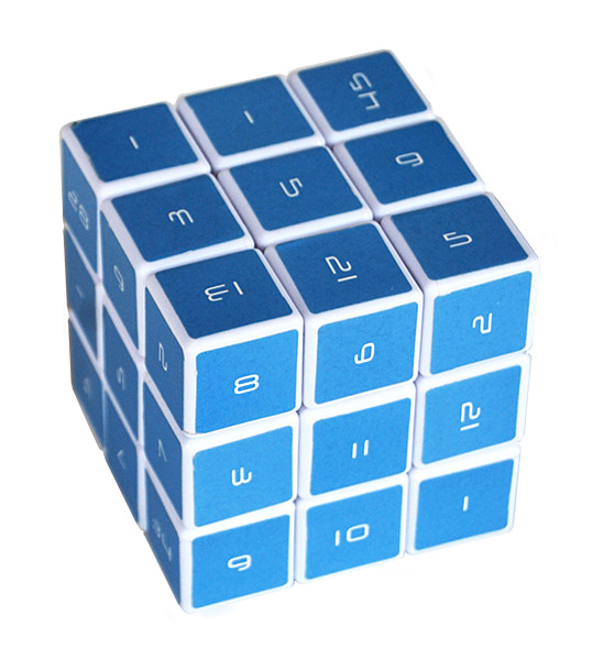 The Magic Cube Mathematic 3D Logic Puzzle