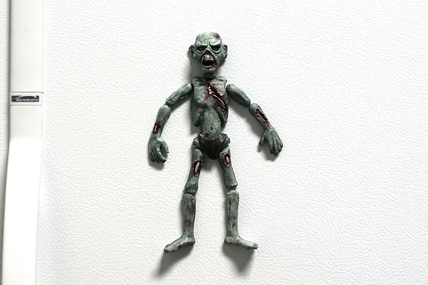 The Magnetic Dead 3D Zombie Magnets