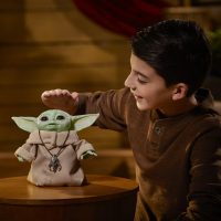 The Mandalorian The Child Baby Yoda Animatronic Figure