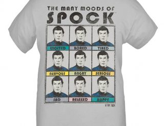 The Many Moods of Spock T-Shirt