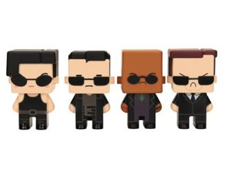The Matrix Pixel Figure 4-Pack