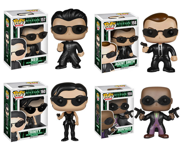 The Matrix Pop Vinyl Figures