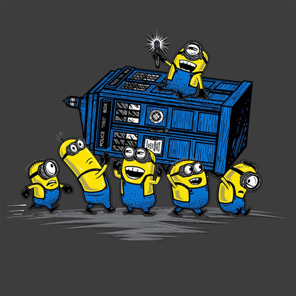 The Minions Have The Phone Box Shirt