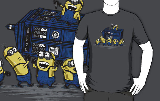 The Minions Have The Phone Box TShirt