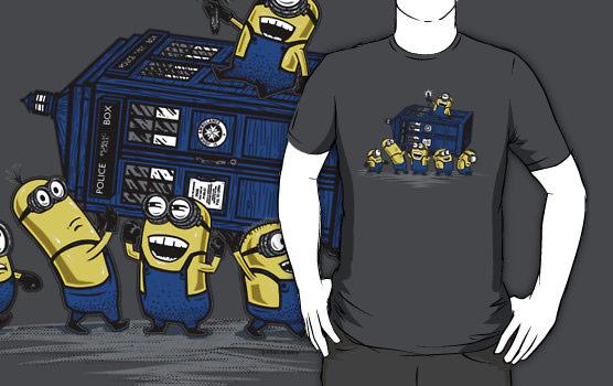 The Minions Have The Phone Box TShirt