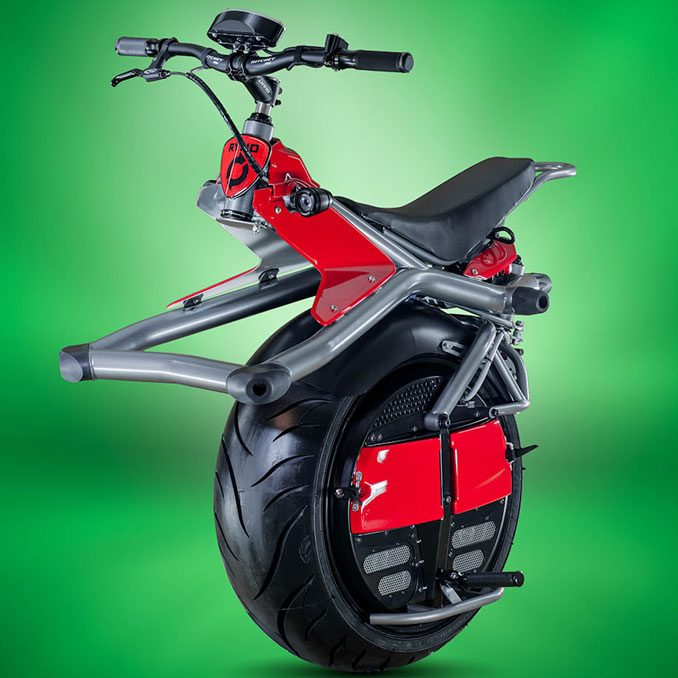 The Motorized Gyro Cycle