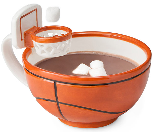 The Mug With A Hoop Basketball Drinkware