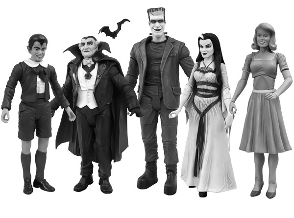 The Munsters Action Figure Set